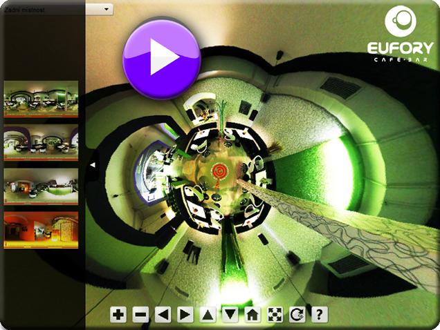 Virtuální prohlídka Eufory Café